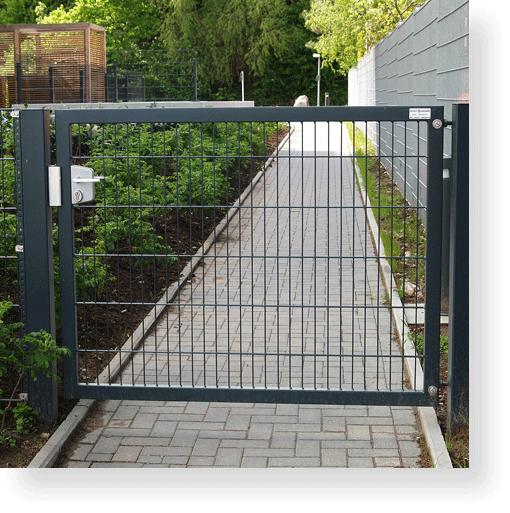 Gartentor gartenpforte drehtor einfl gelig 1000 x 1000 mm - Gartentore aus metall ...