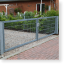 Drehtor, Gartentor, Pforte zweiflügelig, 2.000 x 2.000 mm (BxH)