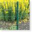 Doppelstabmatten 6/5/6, Zaun komplett 50 Meter, Höhe 123 cm