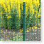 Doppelstabmatten 6/5/6, Zaun komplett 15 Meter, Höhe 203 cm